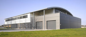 prefab building / modular / steel / galvanized steel