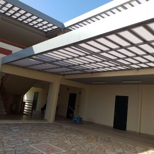pergola cover with solar protection