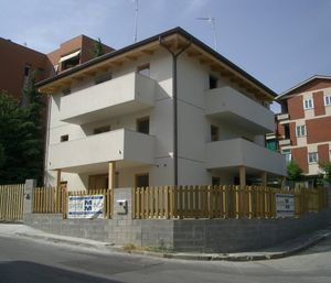 prefab building / solid wood / for housing developments / contemporary