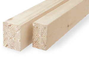 glue-laminated wood beam