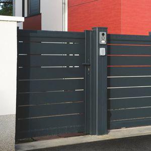 aluminum garden gate