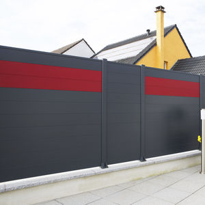 louvered fence