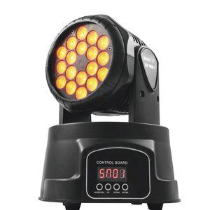 LED-RGB moving head spot