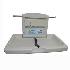 polyethylene changing table / wall-mounted / commercial