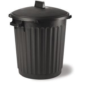 container trash can / polypropylene / contemporary