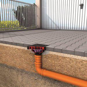 stainless steel floor drain / street / square