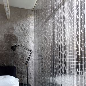 geometric curtain