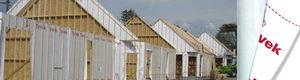 wall waterproofing membrane / roll / high-density polyethylene (HDPE)