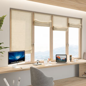 Roman opening system for blinds