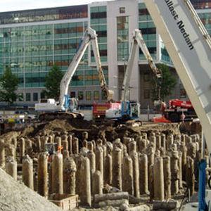 reinforced concrete pile