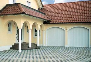 sliding garage doors / aluminum / automatic