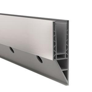 aluminum fastening system / for panels / for railing / exterior