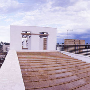 flat roof tile / slate / enameled