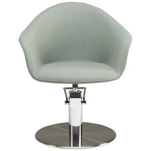 contemporary beauty salon chair / steel / polyurethane / customizable