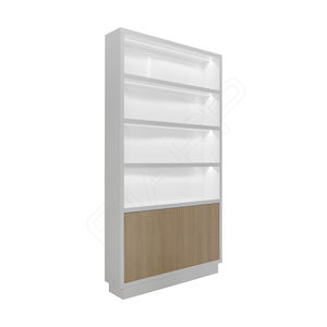 contemporary display case / wooden / commercial