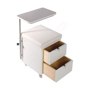 manicure table with storage