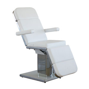 synthetic leather medical chair / reclining / with legrest / electric