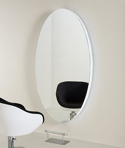 contemporary dressing table / steel / wall-mounted / for hairdressers