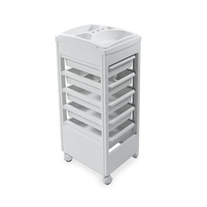 treatment trolley / for beauty salons / polypropylene / ABS