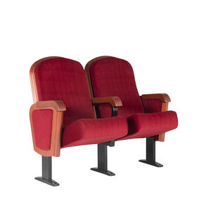 theater auditorium seating / traditional / fabric / folding