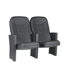 theater auditorium seating / contemporary / fabric / folding