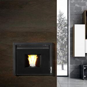 pellet boiler / wall-mounted / residential / for radiators and radiant floor heating