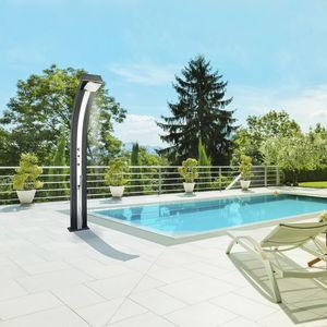 solar garden shower
