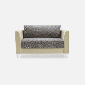 contemporary sofa / fabric / for hotel / for restaurants