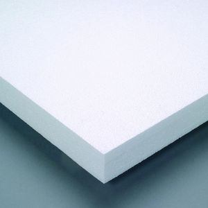 thermal insulation / expanded polystyrene (EPS) / for flooring / rigid panel