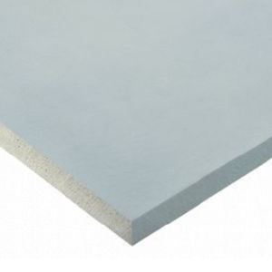 water-repellent plasterboard / rectangular / Class A1 / for partition walls