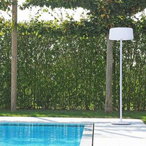 floor-standing lamp / contemporary / aluminum / outdoor