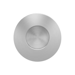 sliding door handle / stainless steel / contemporary / satin finish