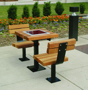 contemporary chess table