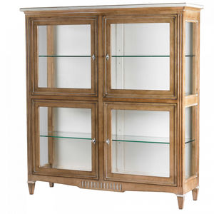 Directoire style display case / glass / wooden
