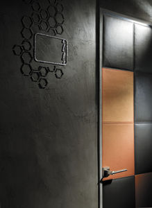 leather wall-covering