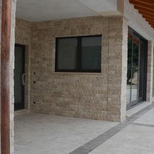 indoor mosaic tiles / outdoor / wall / travertine