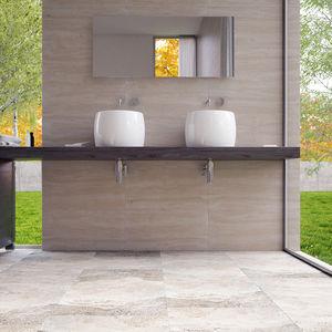 indoor tiles / wall / floor / travertine