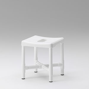 traditional shower stool