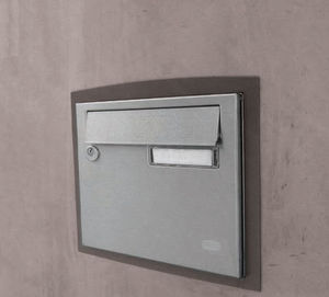 wall-mounted mailbox