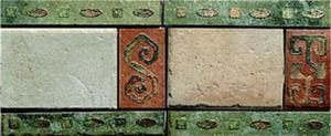 porcelain stoneware border tile