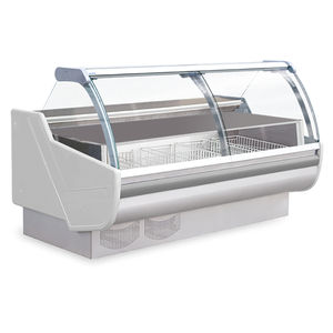 refrigerated display counter / for frozen food / for shops