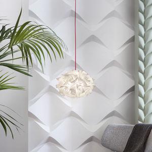 pendant lamp / contemporary / Opalflex® / handmade