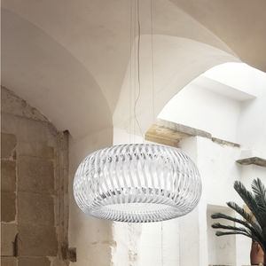 pendant lamp / contemporary / polycarbonate / Lentiflex®