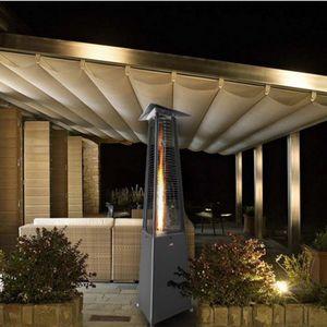 floor-mounted infrared patio heater
