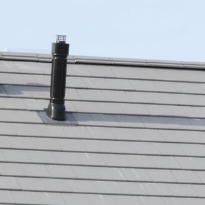 clay smoke flue / complete system