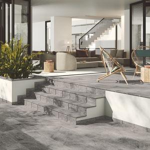 outdoor tile / floor / clinker / rectangular