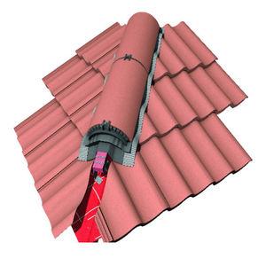 aluminium roof system / metal profile / commercial