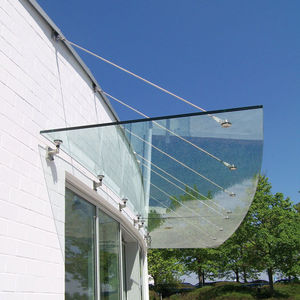 entrance canopy / for exterior staircases / for commercial buildings / for patios