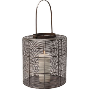 powder-coated steel lantern