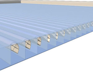 polycarbonate solar shading